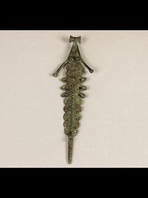 Large bronze pendant (Burkina Faso)
