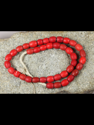 40 « Loubia » glass beads from Ethiopia