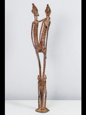 Gan pendant in bronze (Burkina Faso)